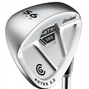 satin chrome wedge