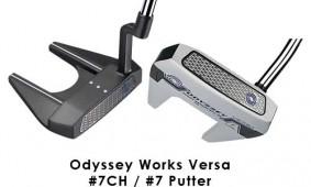ODYSSEY WORKS VERSA #7CH #7 PUTTER