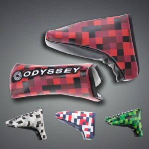 ODYSSEY GRAPHIC BLADE PUTTER COVER 16JM